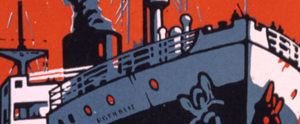 Detail from a Rodmell poster