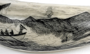 Detail from decorated scrimshaw (image/jpeg)