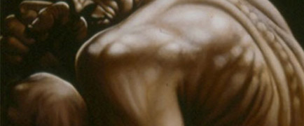 Detail from Peter Howson picture