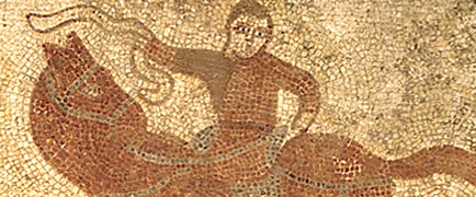Detail from Horkstow mosaic